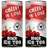 Teas Of All Nations Cheery In Love Ice Tea With Red Cherry Flavor Loose Leaf Set Of 2 50 Gms Each