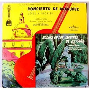 Alhambra mcc 30054 joaquin rodrigo narciso yepes noches en los jardines de espa a 1 - Noche en los jardines de espana ...