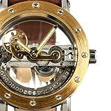 ESS Golden Case Skeleton Antique Mechanical See through Automatic Men Mens Watch WM319-1