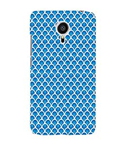 Fuson 3D Printed Colour Pattern Designer Back Case Cover for Meizu MX5 - D843