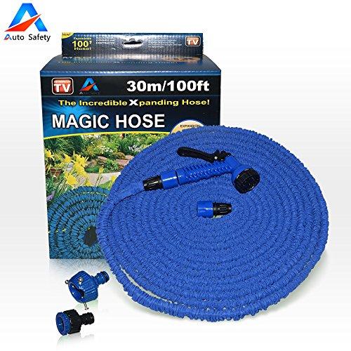 auto-safety-100ft-tubo-per-giardino-flessibile-super-forte-tubo-acqua-espandibile-con-connettore-pla