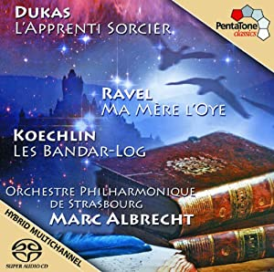 Dukas : L''Apprenti Sorcier - Ravel : Ma Mère l''Oye - Koechlin : Les Bandar-Log