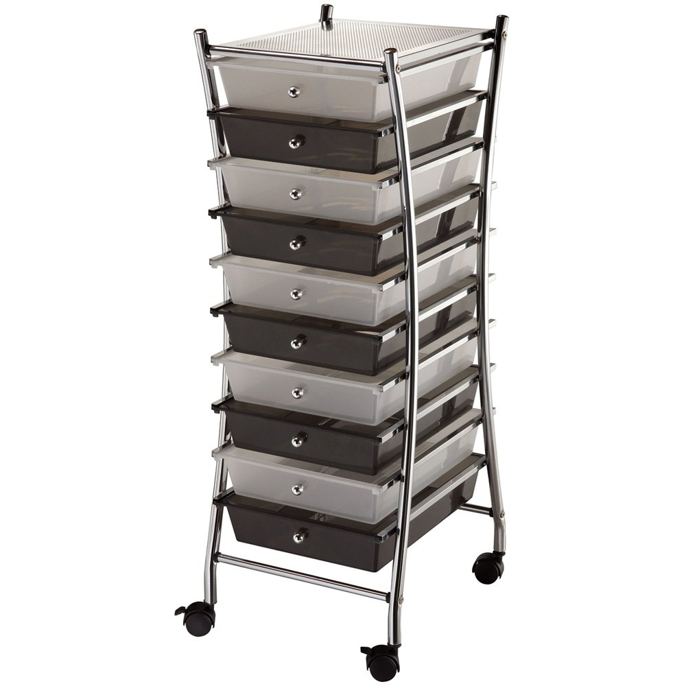 Blue Hills Studio Inch  Storage Cart