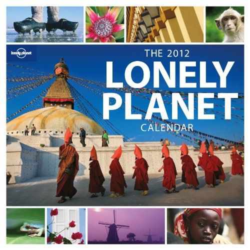 Official Lonely Planet Calendar 2012