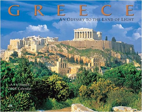 Greece Wall (AVALAN) - 2008 Calendar - Buy Greece Wall (AVALAN) - 2008 Calendar - Purchase Greece Wall (AVALAN) - 2008 Calendar (Calendars, Office Products, Categories, Office & School Supplies, Calendars Planners & Personal Organizers, Wall Calendars)