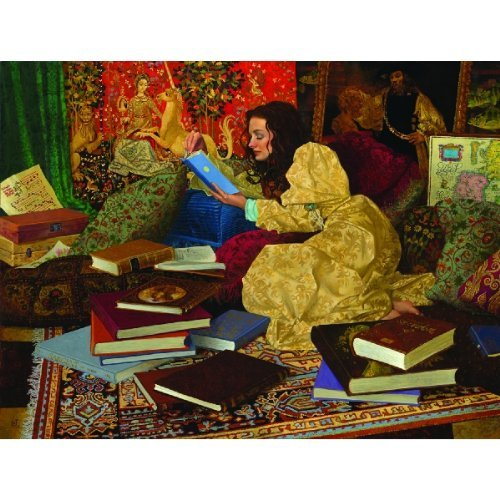 Cheap SunsOut James Christensen A Place of Her Own 500pc Jigsaw Puzzle (B001V9HGJW)