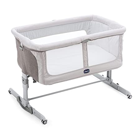 Chicco Dream Legend Next2Me Culla Co-Sleeping, argento
