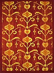 LA Rug Botticelli Abstract Geometric Area Rug (2 by 4 Foot) 514-01-0204