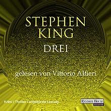 Drei (Der dunkle Turm 2) Hörbuch von Stephen King Gesprochen von: Vittorio Alfieri