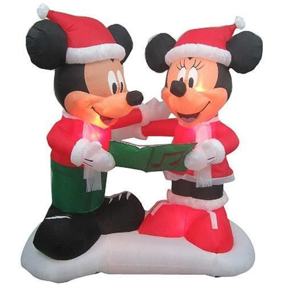 Mickey Mouse and Friends Outdoor Christmas Inflatables | Christmas ...