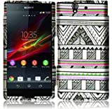 Sony Xperia Z C6603 Yuga C6606 Hard Plastic Snap On Protector Case With Antique Aztec
