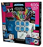 400+ Piece Project Runway Set with Fashion Design Portable Projector