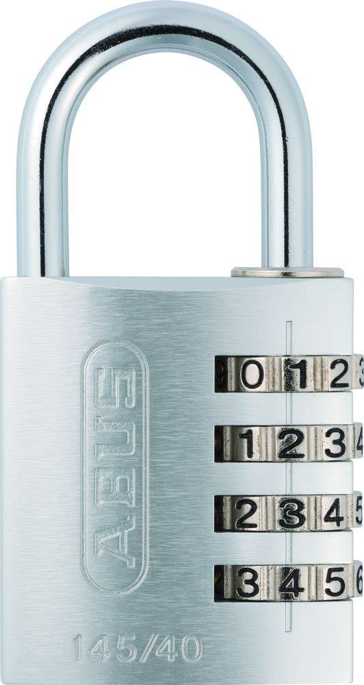 ABUS 488146 Aluminium-Zahlenschloss 145/40,