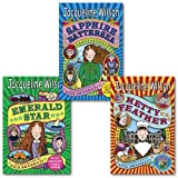 Jacqueline Wilson Hetty Feather Series Collection 3 Books Set.(Emerald Star, Sapphire Battersea and Hetty Feather)