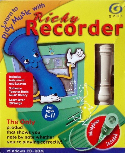 Learn To Play Music With Ricky Recorder