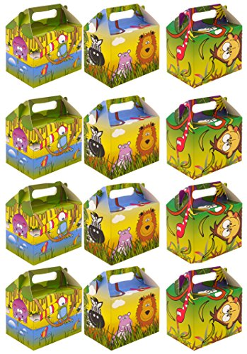 value-pack-12-x-jungle-animal-paper-lunch-box-going-home-present-picnic-boxes