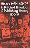 img - for Hitler's Mein Kampf in Britain and America: A Publishing History 1930-39 book / textbook / text book