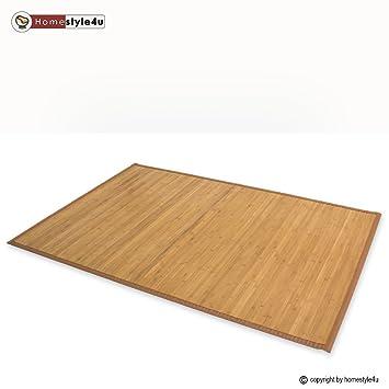 tapis en bambou bambou paillasson plancher de. Black Bedroom Furniture Sets. Home Design Ideas