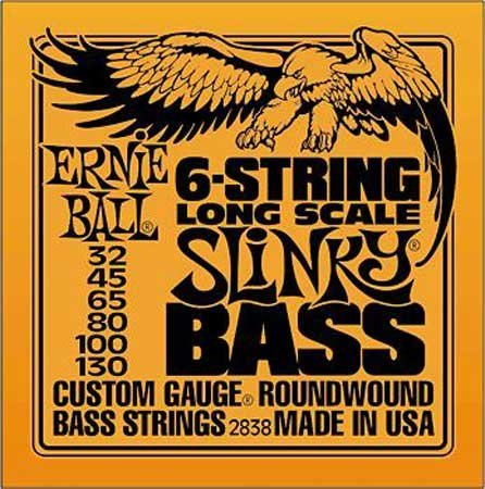 Ernie Ball 2838 Electric Bass Long Scale Slinky,