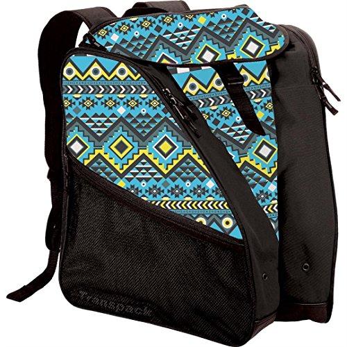transpack xtw ski boot bag aqua aztec sporting goods