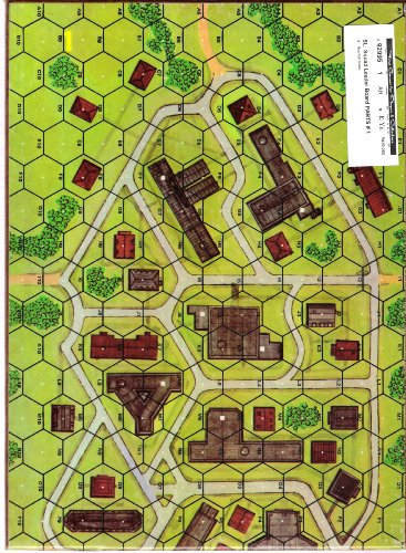MMP: SL Squad Leader Unmounted Mapboard # 1 - 1
