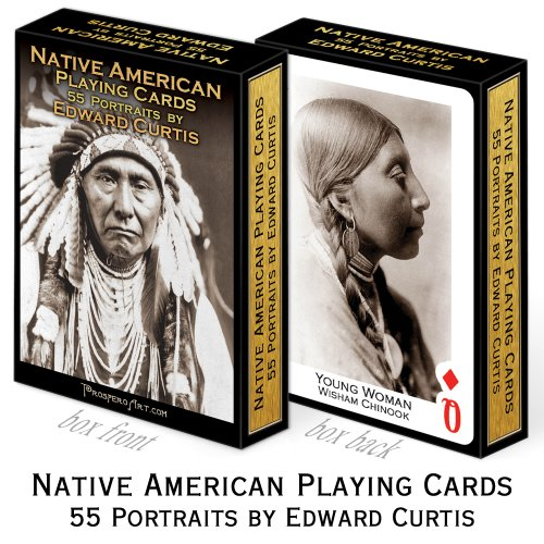 Native American Playing Cards ~ Edward Curtis - 1