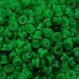 ITATOO® 200pcs Soft Tattoo Grommets Rubber Tattoo Nipples for Tattoo Needles N201087 (Green)