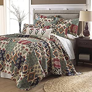 Kayla twin quilt set home kitchen for Quilted kitchen set