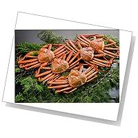 【新潟のカニ屋・リピータ続出!】 紅ずわい蟹(カニ) 姿 5ハイ [総量 2kg] 日本海産茹でたてお試しセット