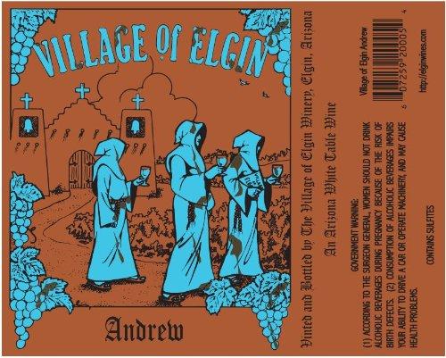 Nv Village Of Elgin Winery Andrew Blend - White 750 Ml