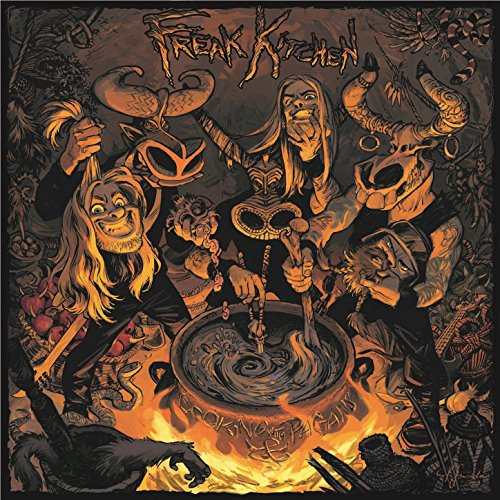 Original album cover of Cooking With Pagans by Freak Kitchen