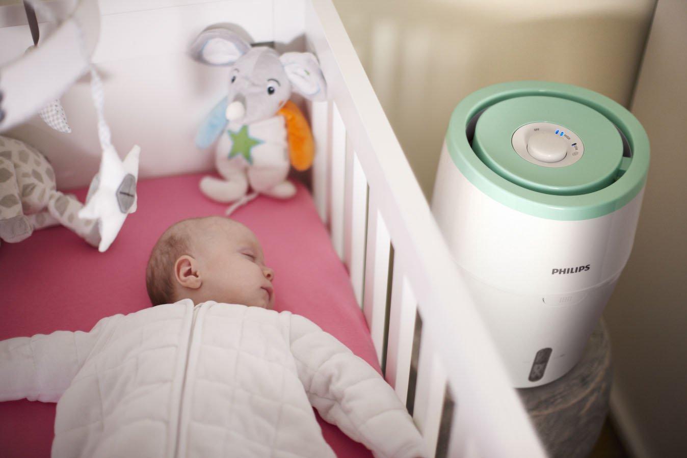 Luftbefeuchter für Baby und Kinderzimmer von Philips