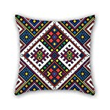 PILLO Pillow Shams Of Bohemian 18 X 18 Inches / 45 By 45 Cm,best Fit For Monther,birthday,chair,bench,living Room,kids Double Sides
