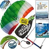 HQ Hydra II 350 V2 Kiteboarding Water Trainer Kite Bundle : Including 'The Way To Fly'... by HQ Power Kites, PASA, IKO, WindBone