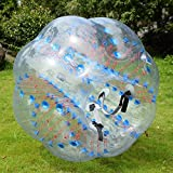 Costzon 1 PC 1.5M Inflatable Bumper Ball Body Zorbing Ball Zorb Bubble Soccer/Football Without Blower
