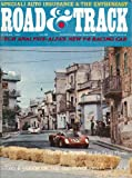 ROAD & TRACK Rambler American Fiat 124 Toyota 220 Corona Coupe road tests 8 1967