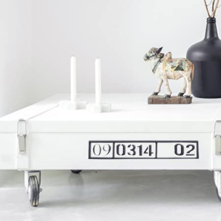modern coffee table with wheels and storage