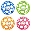 Rhino Toys Oball with Rattle (1 supplied, colours may vary) from Kidsii