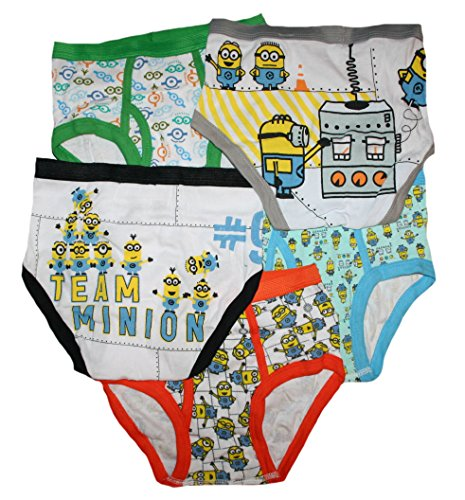 Despicable Me Little Boys' Briefs 5 Pack