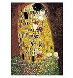 パズル ジグソーパズル 500 / 1000 / 2000ピース クリムト 接吻 The Kiss 名画パズル アートポスター (2000ピース)