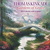 Thomas Kinkade Gardens of Grace with Scripture: 2012 Wall Calendar