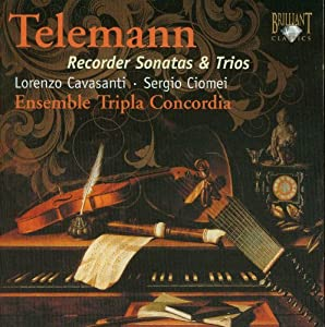 Telemann: Recorder Sonatas and Trios