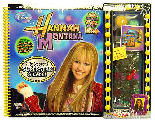 Hannah Montana My Secret Superstar Syle Book - 1