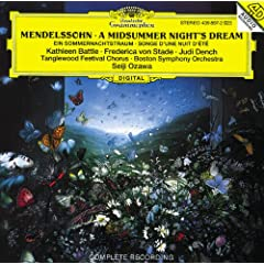 A Midsummer Night's Dream, Op.61 Incidental Music - No.5 Intermezzo
