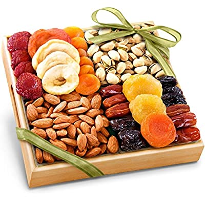 Golden State Fruit Pacific Coast Classic Dried Fruit Tray Gift from Golden State Fruit