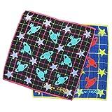 ヴィヴィアン ウエストウッド Vivienne Westwood ハンカチ ハンドタオル タオルハンカチ タオル レディース オーブ×星柄 並行輸入品 AMI627