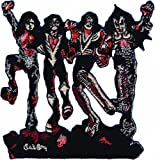 KISS Destroyer PATCH, Officially Licensed Products Classic Rock, Iron-On / Sew-On, 3.5