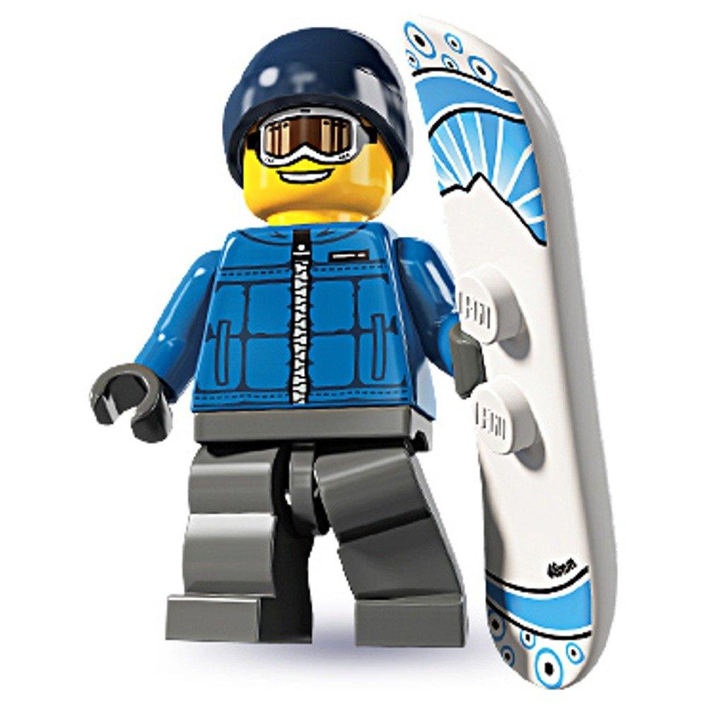 Lego Minifigures Snowboarder Amazon.com Lego Minifigures