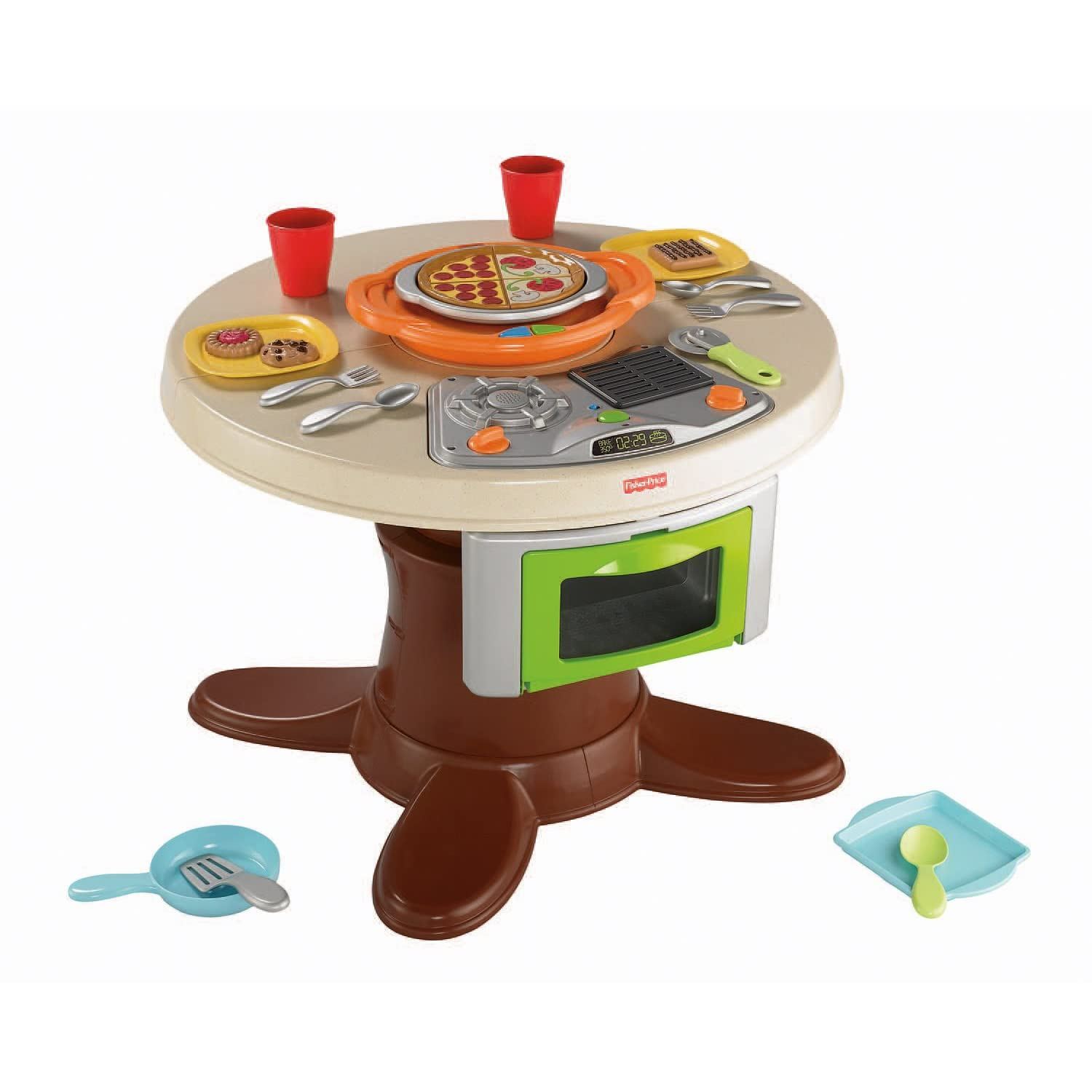 Fisher-Price Servin' Surprises Cook 'n Serve Kitchen And