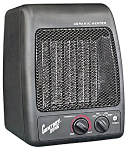 Comfort Zone® Personal Ceramic Heater/Fan CZ441